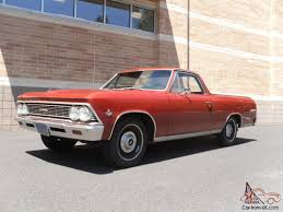 1966 el camino chevrolet el camino 63k orig miles u0027s matching ca car 327 275 4 speed