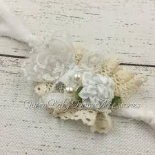 Shabby Chic Tie Backs by 24pcs Lot Newborn Tie Back Newborn Headband Photography Prop