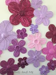 Flower Wall Decor Foil Flowers Wall Décor Diy Hometalk