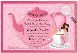 bridal shower tea party invitations pin up girl tea party bridal shower invitations di 1510