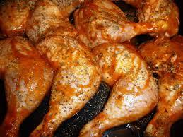 comment cuisiner une cuisse de poulet cuisses de poulet marinées et rôties les recettes de virginie