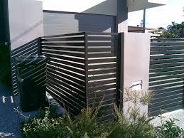 horizontal slatted fence landscaping pinterest gates