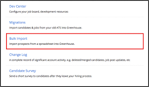 Spreadsheet Jobs How Do I Upload Prospects From Excel U2013 Greenhouse Software Inc