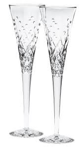 waterford happy celebrations flute glasses