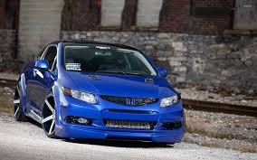 car honda civic backgrrounds download vossen honda civic si wallpaper car wallpapers 48100