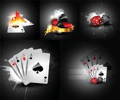 cards and dice vector free vector in encapsulated