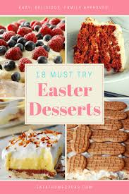 easter desserts dessert archives eat at home