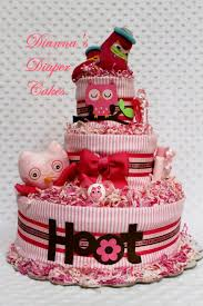 baby diaper cakes by dianna my little works of art