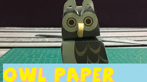 easy owl paper craft cute u0026 easy easter diys paper animals for
