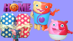dreamworks home color changers welcoming oh and baby boov fun