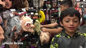 disfraces halloween party city comprando mascaras de halloween en party city youtube