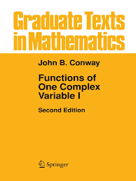 conway john b functions of one complex variables i 1 pdf