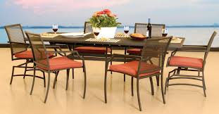 Hampton Bay Replacement Cushion by Patio Ideas Metal Folding Patio Table Chairs Round Metal Patio
