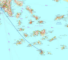 Greek Islands Map Cyclades Avec Ferry Http Fromeuropewithlove Fr Wp Content