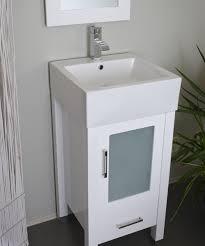 18 Inch Bathroom Vanity With Sink Best Bathroom Vanity 18 Two Faucets To One Sink Hemling