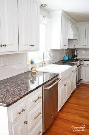 Diy White Kitchen Cabinets by 297 Best Off White Kitchen Cabinets Images On Pinterest White