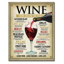 wine around the world tin sign t1941 baubles n bling