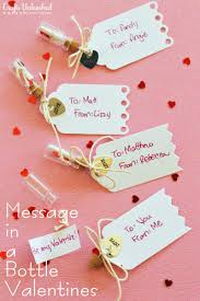 diy message in a bottle message in a bottle handmade valentines tutorial
