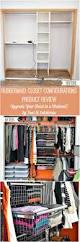 Rubbermaid 60 Garment Closet Best 25 Modern Closet Organizers Ideas Only On Pinterest Custom