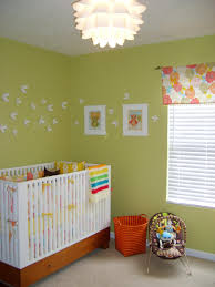 nursery decorating idea inexpensive diy cloud mobile hgtv