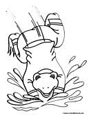 25 frog coloring pages ideas frog