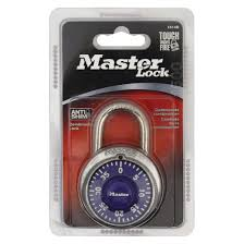 master lock dial combination padlock purple target