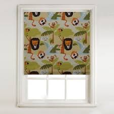 Thermal Blackout Blinds Safari Childrens Design Thermal Blackout Roller Blind Free