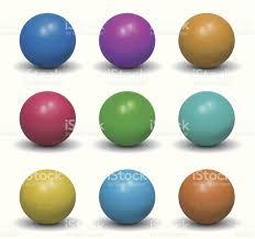 realistic balls nine color shades stock vector art 155359807 istock