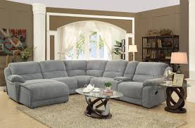 L Shaped Sofa With Recliner Sofa Grey Leather Sectional Sectional Sleeper Sofa Reclining