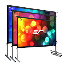 Backyard Projector Pop Up Cinema Series Pop Up Projection Screen Elite Screens