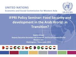 food security development in the arab world in transition