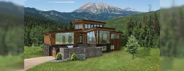 apartments modern mountain house plans best dream home images on