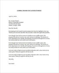 ideas of thank you letter for employment opportunity with