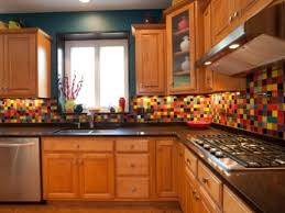 kitchen mosaic tile backsplash colorful painted glass mosaic tile backsplash simple brilliant