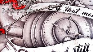 dotwork design half sleeve jenn s timelapse