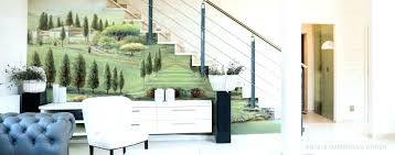 Dining Room Wall Murals Large Size Of Living Painted Bathroom