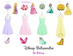 brittany u0027s disney wedding disney princess bridesmaid dresses