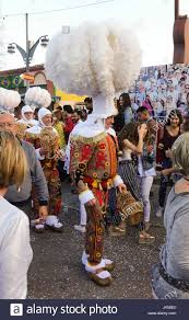 typical belgium traditions carnival with prince and gilles at
