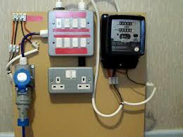 electricity meter 1 of 2 metering board demo youtube