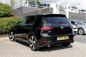 black volkswagen gti find a used black vw golf mk7 facelift 2 0 tsi gti bmt 230 ps