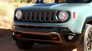 jeep renegade stance jeep renegade trailhawk youtube