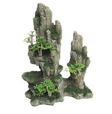 artificial aquarium rock large fish tank decoration ornaments