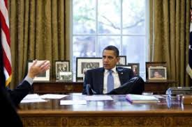 obama at desk the ridiculous double standard of respect for the oval office