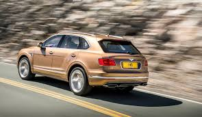 bentley sports car 2016 bentley bentayga w12 2016 review by car magazine