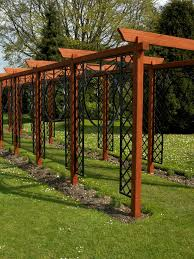 Pergola Corner Designs by Contemporary Uses For Arches And Pergolas Hgtv