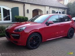Porsche Cayenne Red Interior - 2014 carmine red porsche cayenne gts 109306589 gtcarlot com