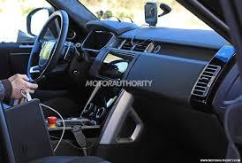 Classic Range Rover Interior 2018 Land Rover Range Rover Spy Shots