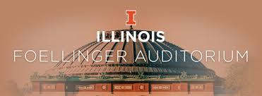 Wedding Venues In Illinois Foellinger Auditorium University Of Illinois