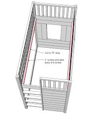 Loft Beds Plans Free Lowes by Ana White Little Cottage Loft Bed Diy Projects