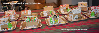 winter birthday party full of crafts and fun simply natural mom